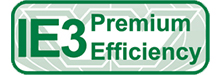 We can supply many different motors with different efficiency ratings including IE3 premium efficiency,
