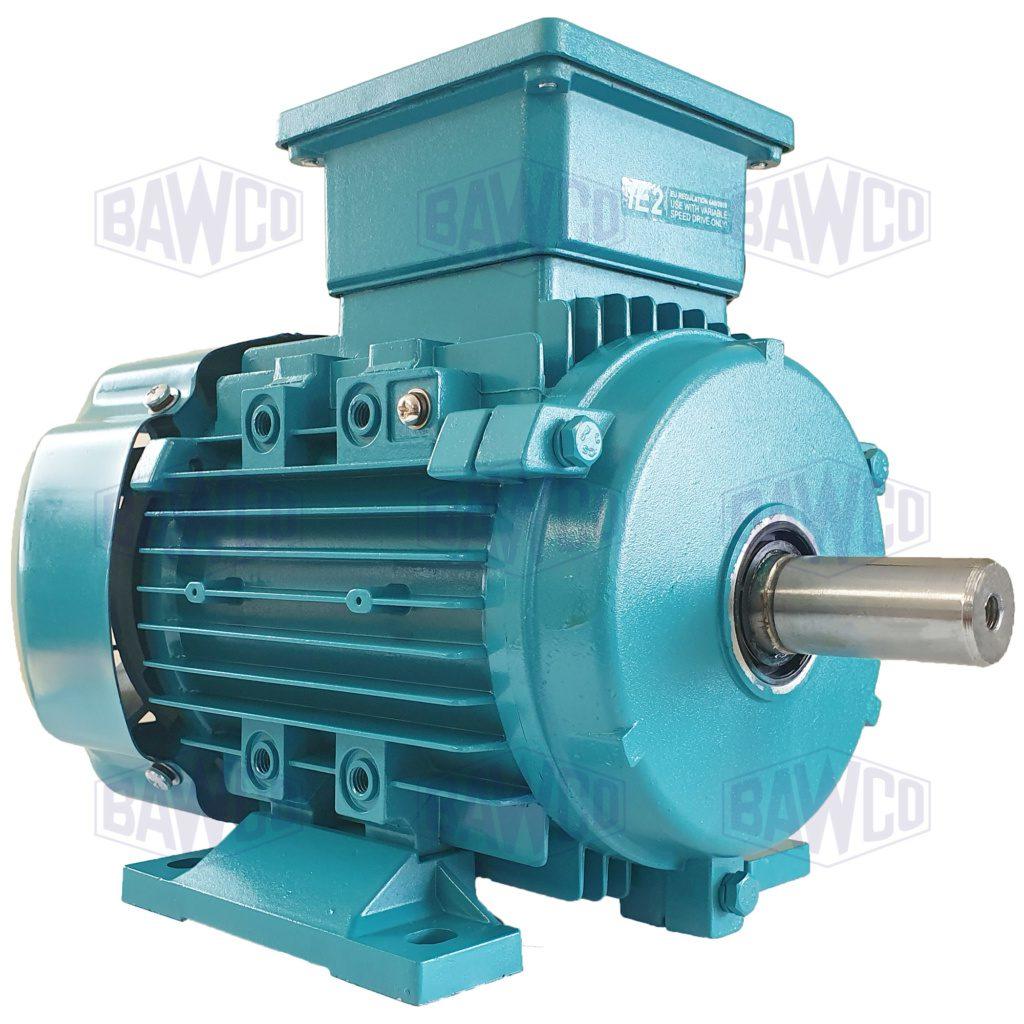 Brook Crompton Series 10 IE2 Aluminium Electric Motor supplied by BAWCO.