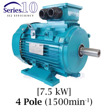 Brook Crompton Series 10 IE2 4 Pole Aluminium Electric Motor supplied by BAWCO.
