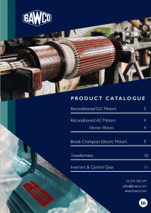 BAWCo Product Catalogue